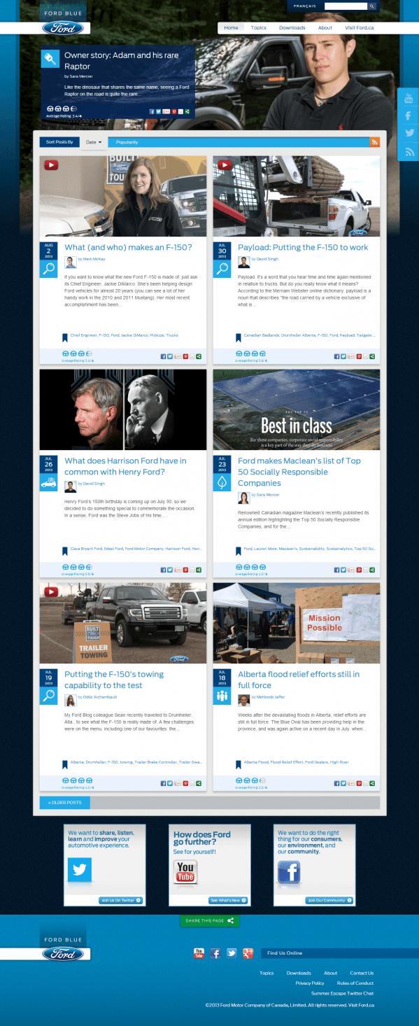 Ford Canada :: Blog