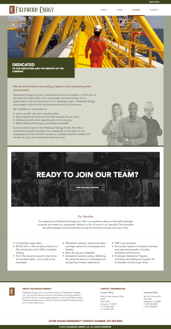 Fieldwood Energy :: Website